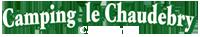Camping Le Chaudebry Logo